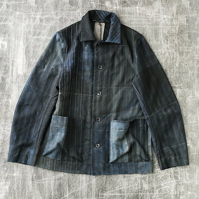 BIEK VERSTAPPEN / UP-CYCLED JAPANESE WOOL JACKET